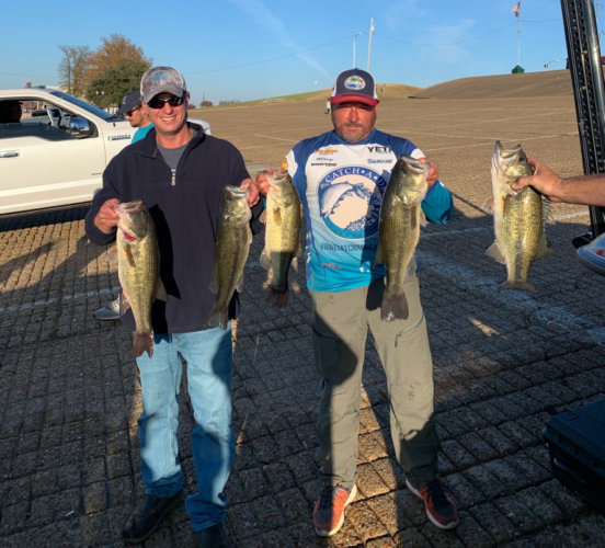 2020 Anglers of the Year Roy Sills and Craig Cornwall
